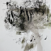 Light from Dark Exhibition 2020 'Wetland' Monotype 390mm x 520mm