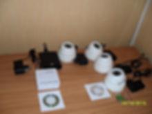 Ready set IP video surveillance in Bryansk on 4 channels.
