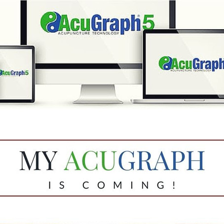 My AcuGraph is Coming!