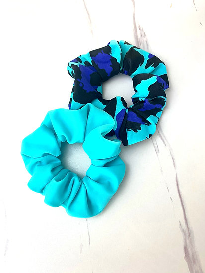 Matching scrunchies