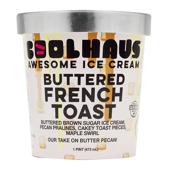 CoolHaus Buttered French Toast Ice Cream