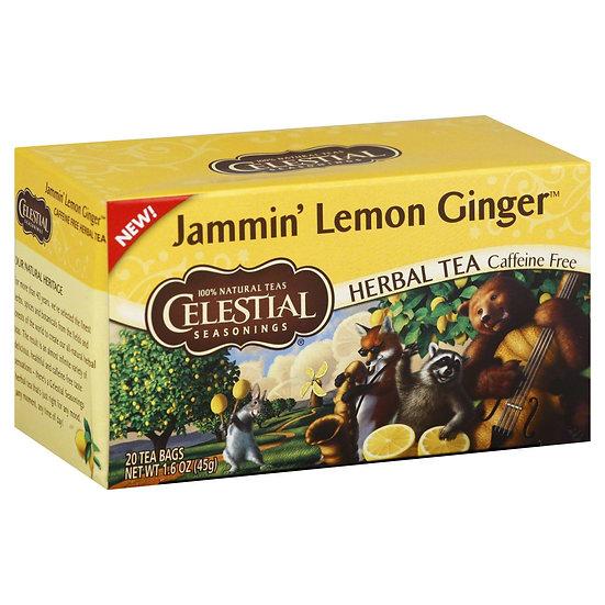 Jammin' Lemon Ginger Tea