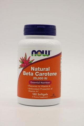 Natural Beta Carotene 25000 IU