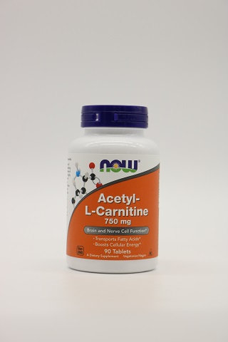 Acetyl-L-Carnitine 750mg