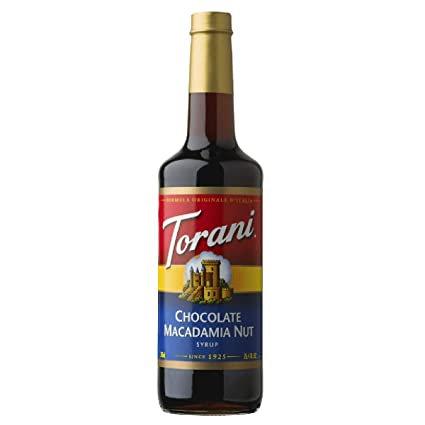 Torani® Chocolate Macadamia Nut Drink Syrup