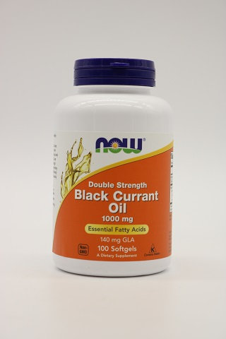 Double Strength Black Currant Oil 1000mg