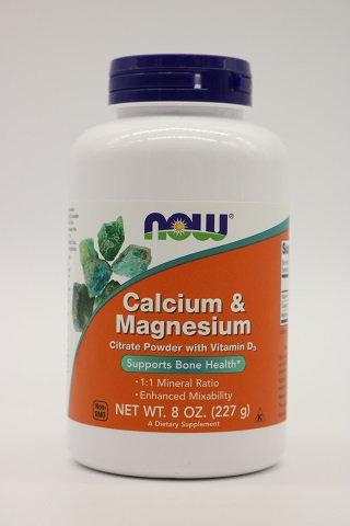 Calcium & Magnesium Citrate Powder w/Vit.D-3