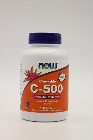 C-500 Chewable Cherry