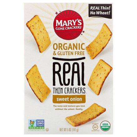 Sweet Onion Thin Crackers