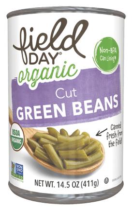 field day® Organic Cut Green Beans