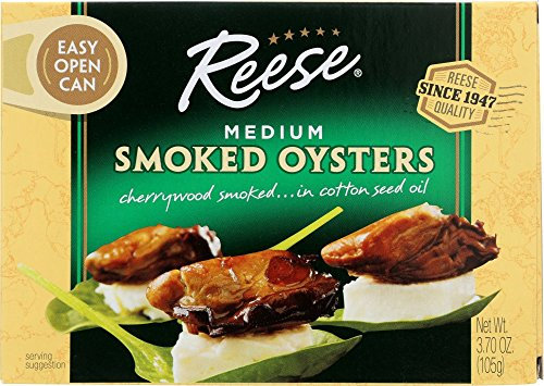 Reese® Medium Smoked Oysters