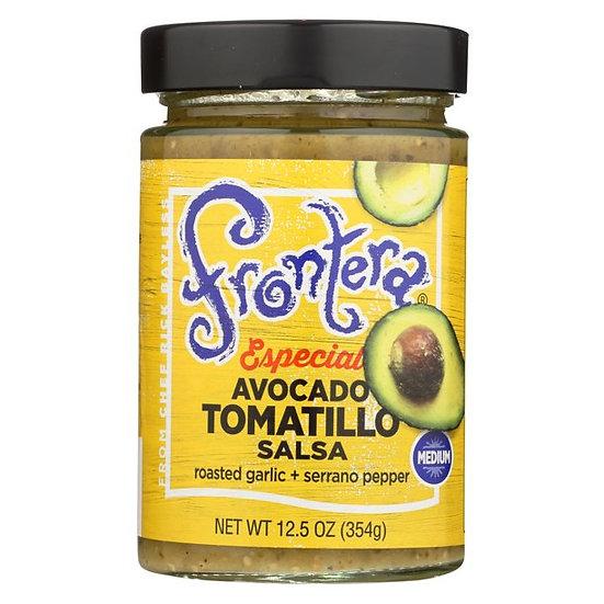 Avocado Tomatillo Salsa