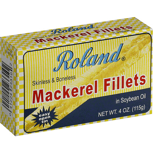 Roland® Mackerel Fillets