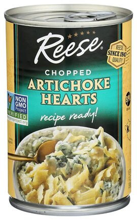 Chopped Artichoke Hearts