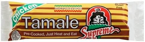 Supreme® Chicken Tamale