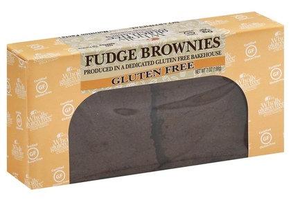 Frozen Gluten Free Fudge Brownies