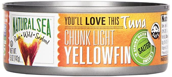 Natural Sea® Chunk Light Wild Yellowfin Tuna