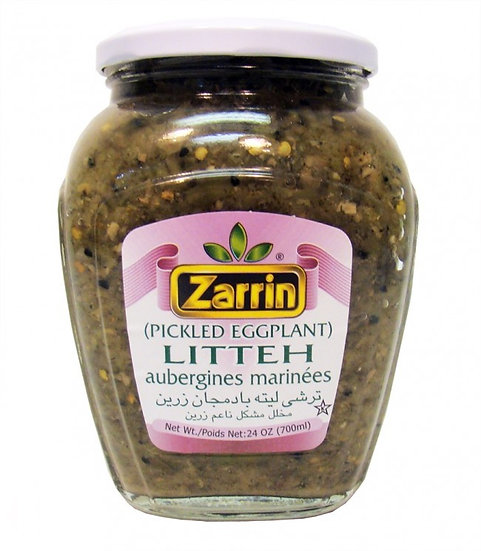 Zarrin® Pickled Eggplant Litteh