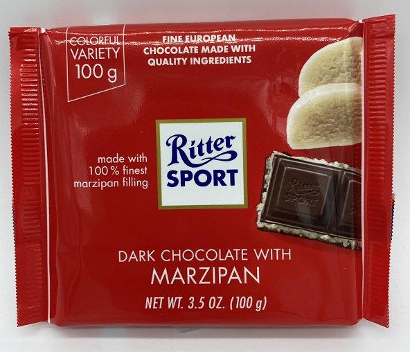Dark Chocolate with Marzipan