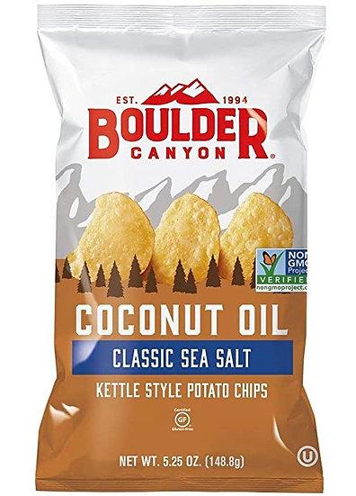 Coconut Oil Sea Salt Chips