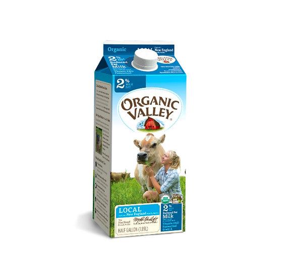 Organic Valley 2%
