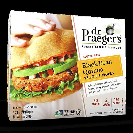 Dr Praeger's® Black Bean Quinoa Veggie Burgers