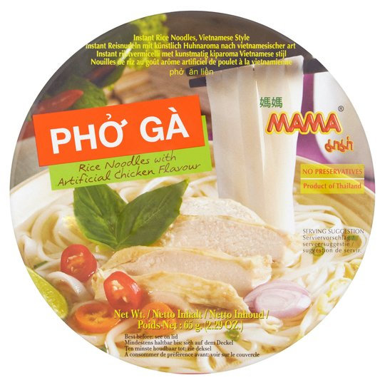 MAMA® Pho Ga Rice Noodle Bowl