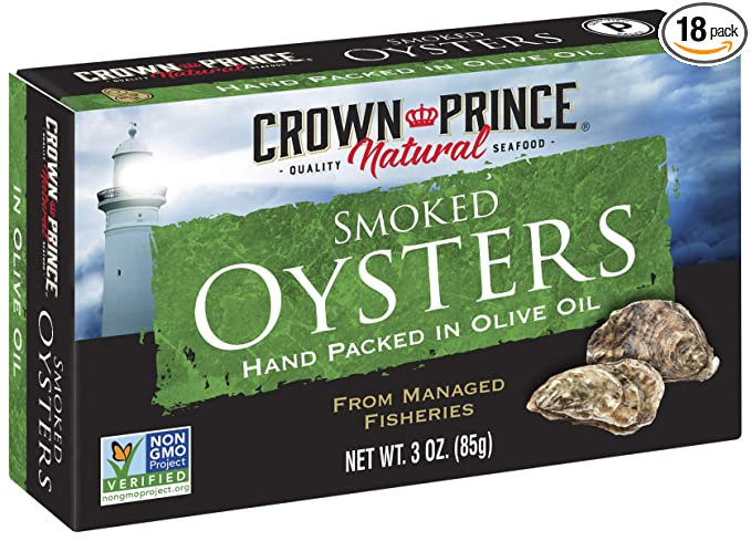 Crown Prince® Smoked Oysters