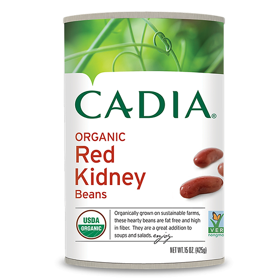 Cadia® Organic Red Kidney Beans