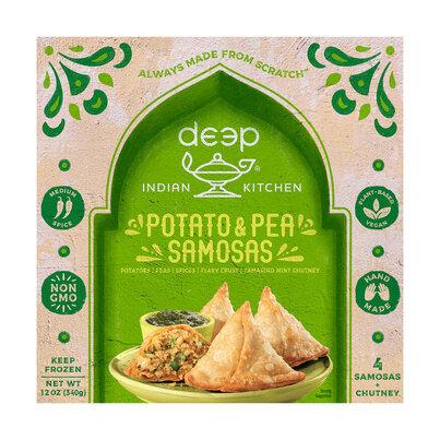 Deep® Potato & Pea Samosas