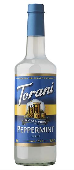 Sugar Free Torani® Peppermint Drink Syrup