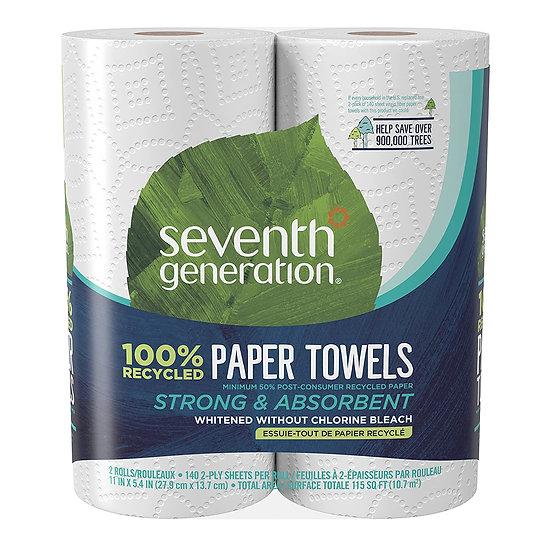 Paper Towels - 2 Rolls