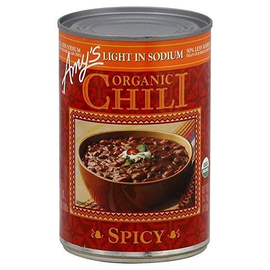 Organic Chili - Spicy - Low Sodium