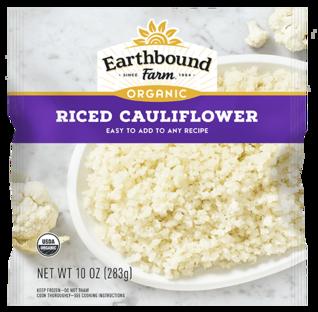 Earthbound Farm Organic Riced Frozen Cauliflower