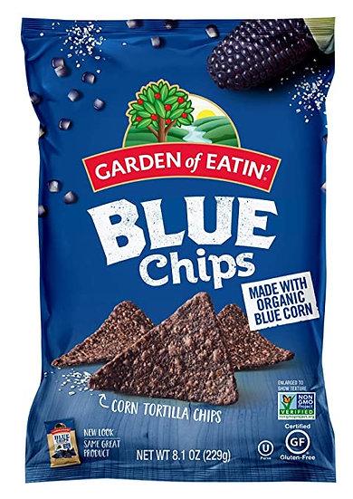 Organic Blue Corn Chips