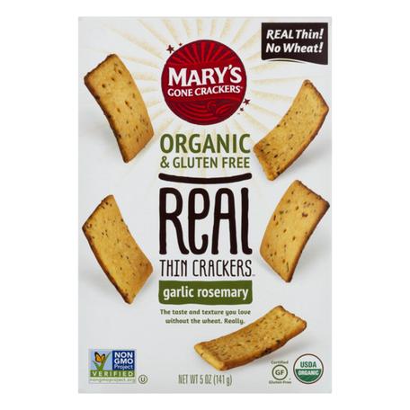 Garlic Rosemary Thin Crackers