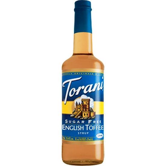 Sugar Free Torani® English Toffee Drink Syrup
