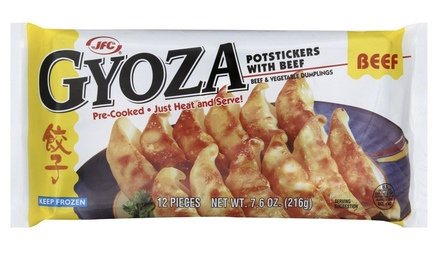Frozen Gyoza Beef Potstickers
