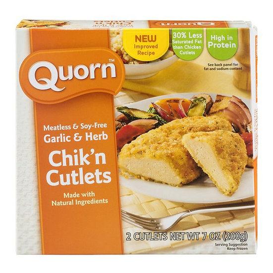 Quorn® Garlic & Herb Chik'n Cutlets