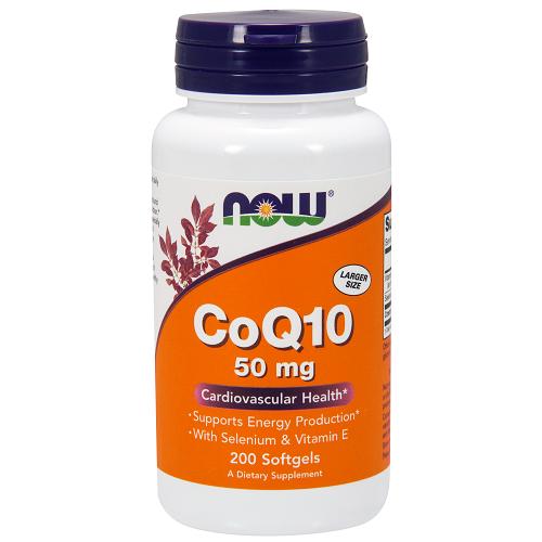 CoQ10 50mg w/Selenium & Vit. E