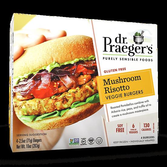 Dr Praeger's® Mushroom Risotto Veggie Burgers
