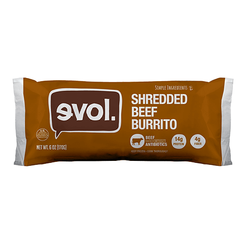 evol® Shredded Beef Burrito