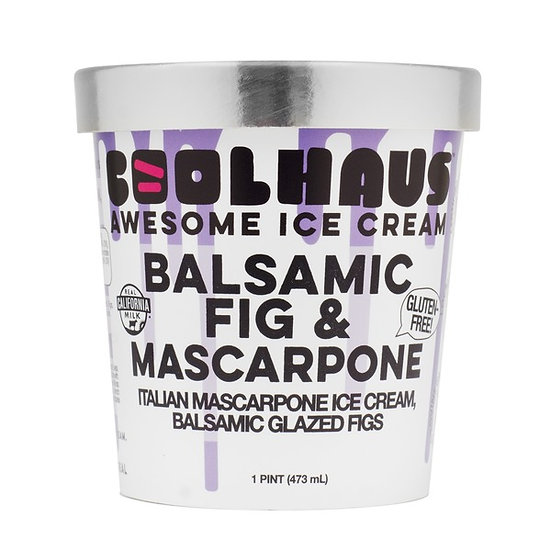 CoolHaus Balsamic Fig & Mascarpone Ice Cream
