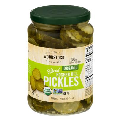 Organic Sliced Kosher Dill