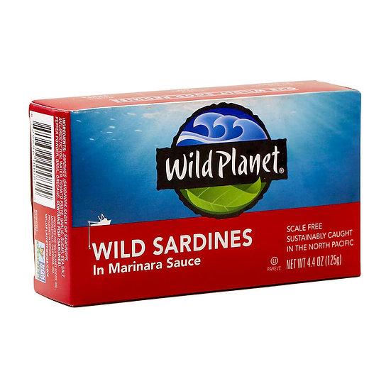Wild Planet® Sardines in Marinara