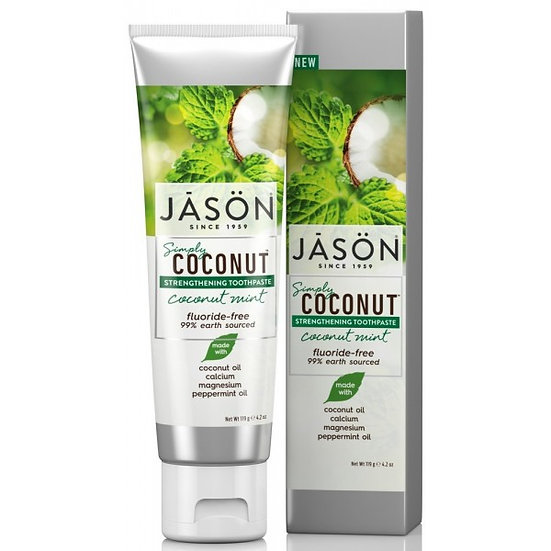 Coconut Mint Flouride-Free Toothpaste