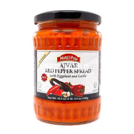 Marco Polo® Hot Ajvar Red Pepper Spread
