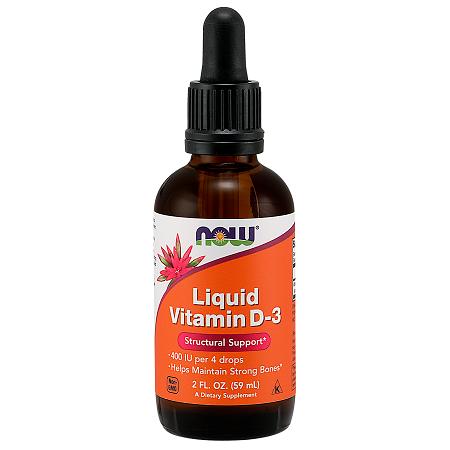 Vitamin D-3 Liquid 400IU/4 drops