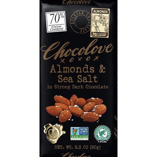 Almonds & Sea Salt