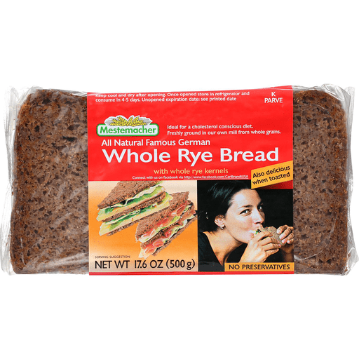 Whole Rye Bread